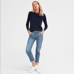 NWT Everlane the lightweight relaxed jeans 27 DR